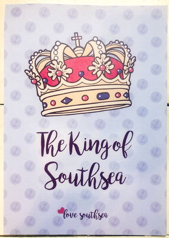 King of Southsea Print