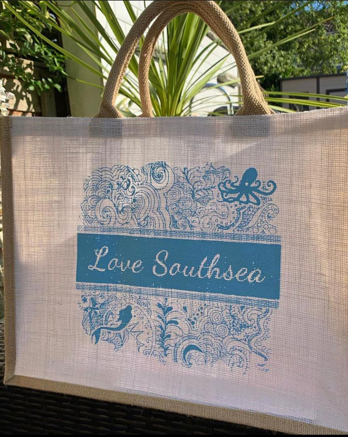 Love Southsea Seaside Bag - Blue