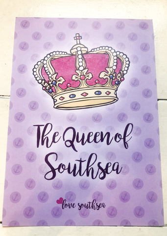 Queen of Southsea Print