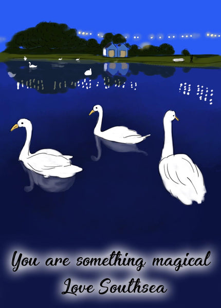 'You are something magical' Print