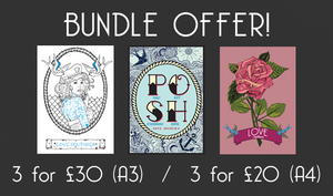 Sailor Rose Art Bundle