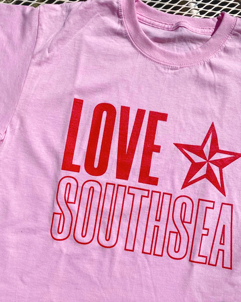 Love Southsea Travelling Star UNISEX t-shirt (COLOUR OPTIONS)