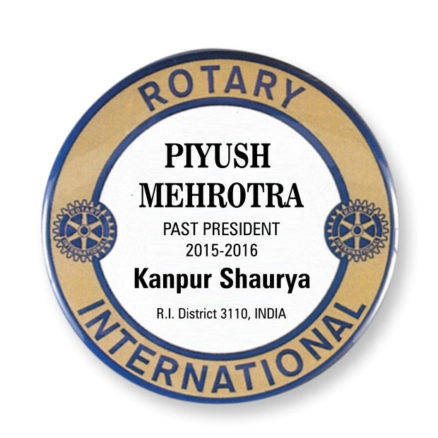Traditional Name Badge