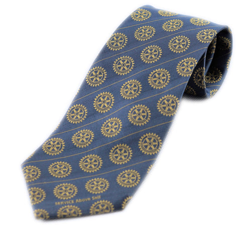 Rotary Silk Tie - Awards California