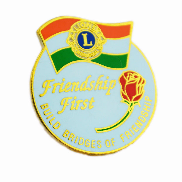 Friendship First Pin - Awards California