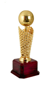 24K Gold plated Globe Award