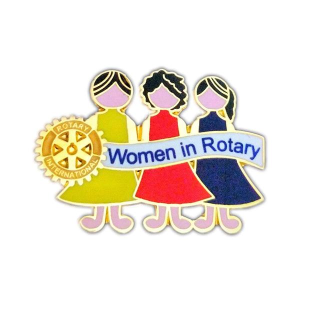 Women in Rotary (Also available with Magnet Attachment) - Awards California