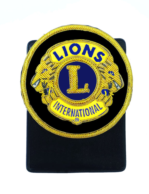 Embroidery Badge with Magnetic holder
