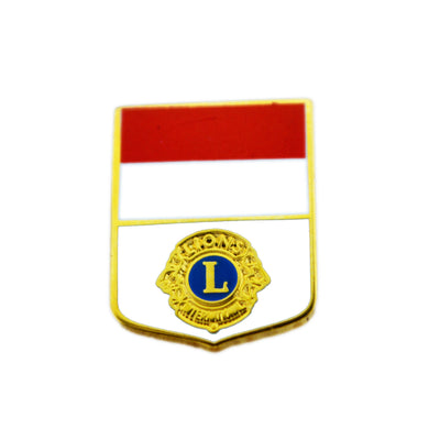 Indonesian Flag Pin - Awards California