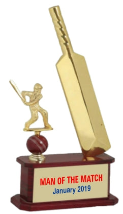 Cricket Man of The Match Trophie