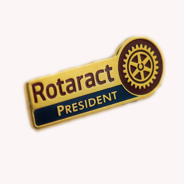 Rotaract Designation Pin