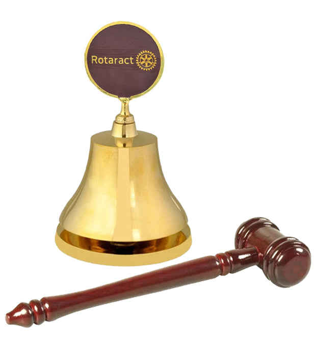 Rotaract Gong and gavel
