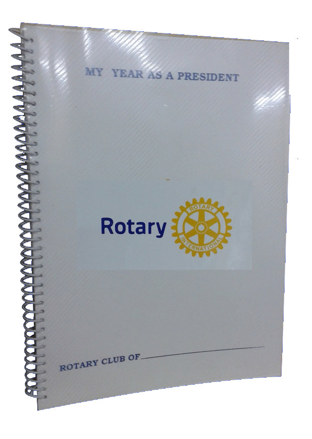 Rotary Meeting Book