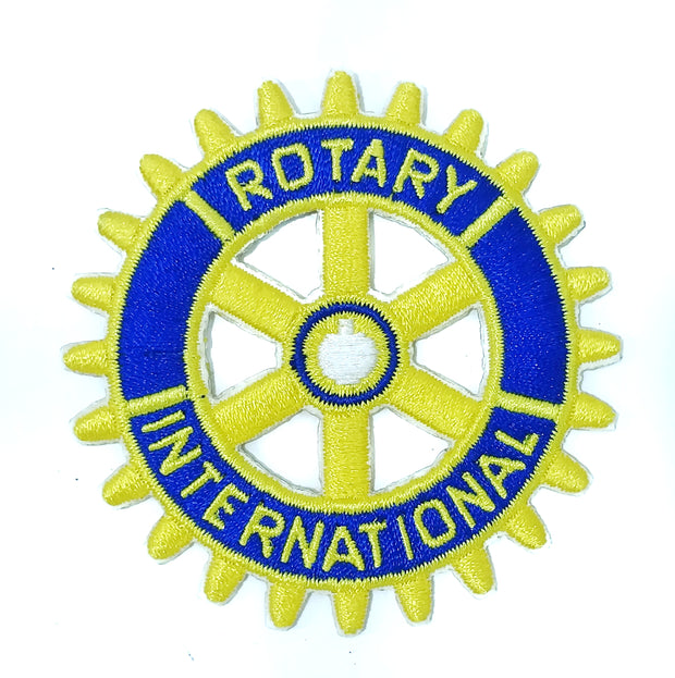 Rotary Embroidery Patch (Can be sewed or Iron Pasted Directly on Clothes)