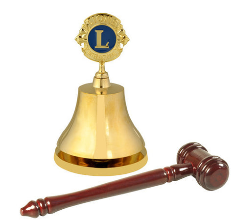Lions Gong and Gavel
