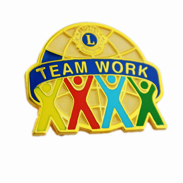 Team Work Pin