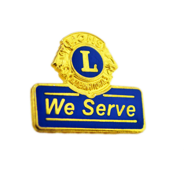 We Serve Pin