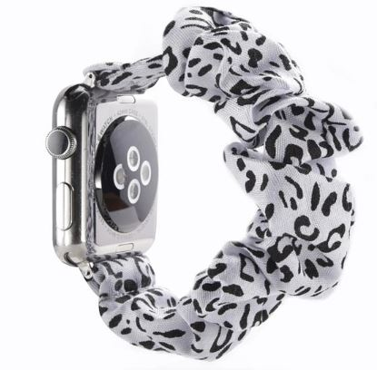 Zebra Watch Scrunchie