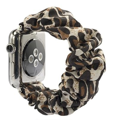 Leopard Watch Scrunchie