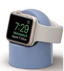 Silicone Charging Dock - Light Blue