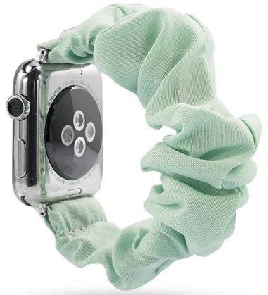 Mint Watch Scrunchie