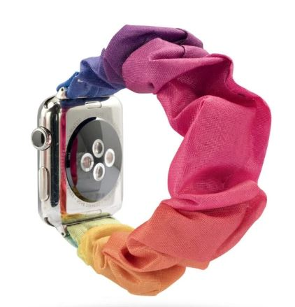 Rainbow Watch Scrunchie
