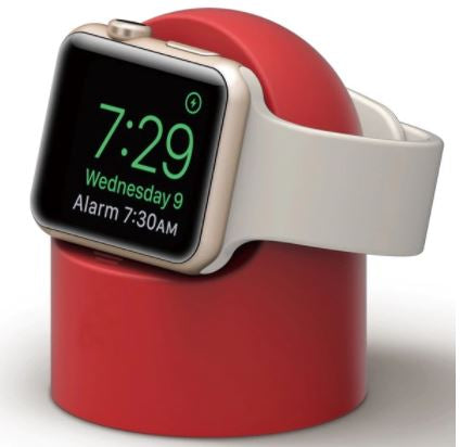 Silicone Charging Dock - Red