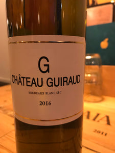 G de Guiraud Bordeaux Blanc 2016, France