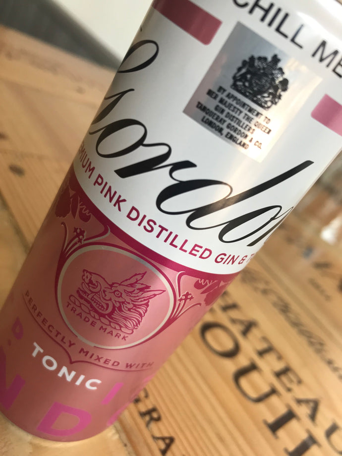 Gordon's Pink Gin & Tonic Can