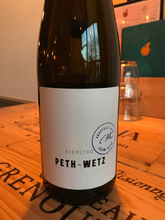 Peth Wetz Estate Riesling 2018, Germany