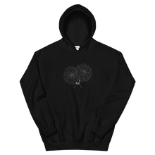 Load image into Gallery viewer, Dual Dahlias Unisex Hoodie