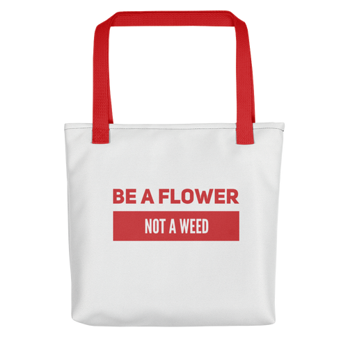 Be a Flower | Floral Passion Flower Picking Harvesting Bag | Floral Shirt Men Women