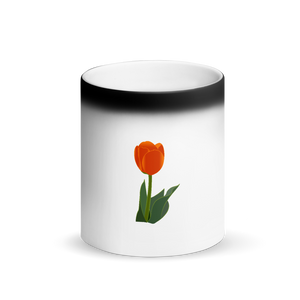 Tulip Matte Black Magic Mug