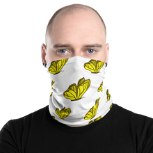 Load image into Gallery viewer, Multi-Purpose Yet Stylish Butterfly Neck Gaiter Protection Mask|Floral Passion