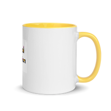 Load image into Gallery viewer, Floral Passion|Warm Your Morning with Yellow Splash Flower Mug
