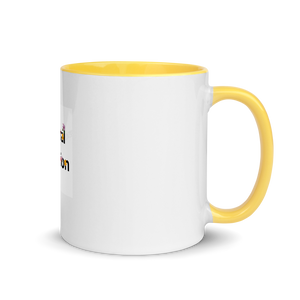 Floral Passion|Warm Your Morning with Yellow Splash Flower Mug