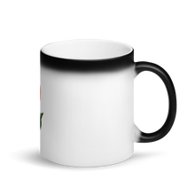 Load image into Gallery viewer, Tulip Matte Black Magic Mug