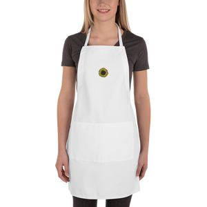 Sunflower Embroidered Apron
