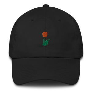 Tulip Dad Hat Cotton Cap