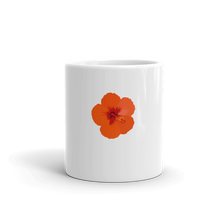 Load image into Gallery viewer, Orange Hibiscus Mug