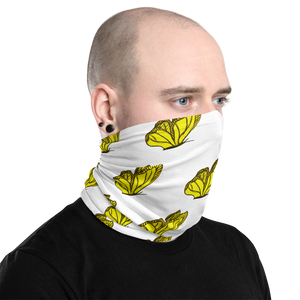 Multi-Purpose Yet Stylish Butterfly Neck Gaiter Protection Mask|Floral Passion