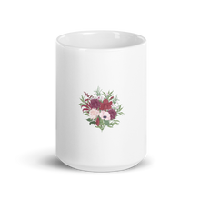 Load image into Gallery viewer, Floral  Passion| A Cup of Joy in Glossy Coffee Mug Bouquet