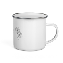 Load image into Gallery viewer, Triple Flower Enamel Mug