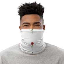 Load image into Gallery viewer, Red Rose Neck Gaiter Protection Mask