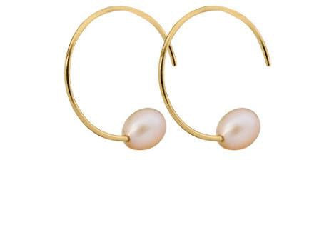 Less is More Freshwater Style 8mm Peach Tone Pearl