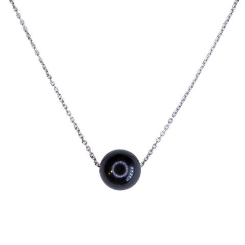 custom black pearl necklace