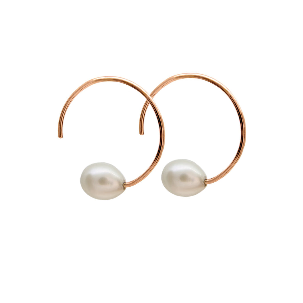 Less is More Freshwater Style 8mm White Pearl