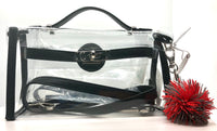 GBBL Clear Game Day Stadium Bags (Black)