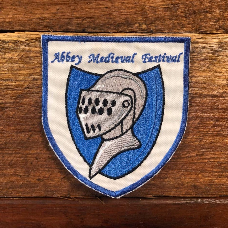 Sew-on Patch - Abbey Medieval Festival Helm