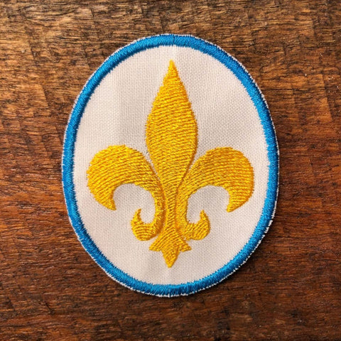 Sew-on Patch - Fleur de lis